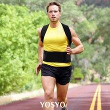 YOSYO Adjustable Back Posture Corrector Magnetic Therapy Posture Corrector Brace Shoulder Back  Brace Support Belt NO Slouching