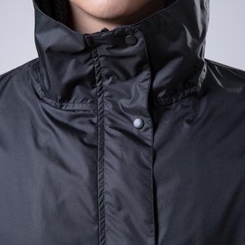 Waterproof Trench Coat Men Black Adult Raincoat Hiking Outdoor Poncho Jacket Rain Gear Overalls Waterproof Erkek Kaban 50yc97