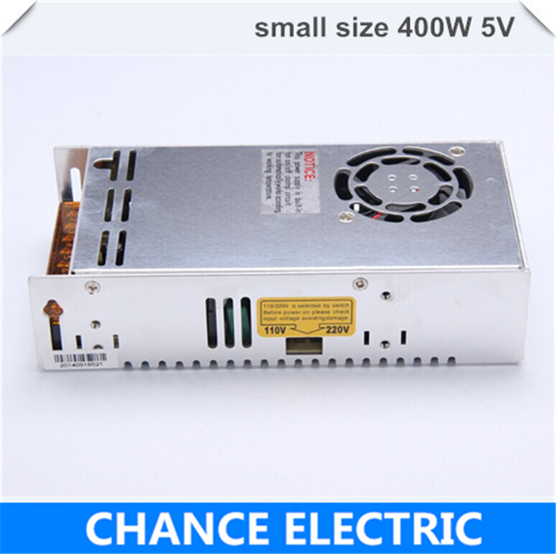 (MS-400-5) IP20 Constant voltage 400W AC to DC 5V small volume Switching power supply 5v dc power supply 400w switching power supply adapter ac 90v 240v to dc 5v 300ma 1 5w buck converter voltage regulator driver module