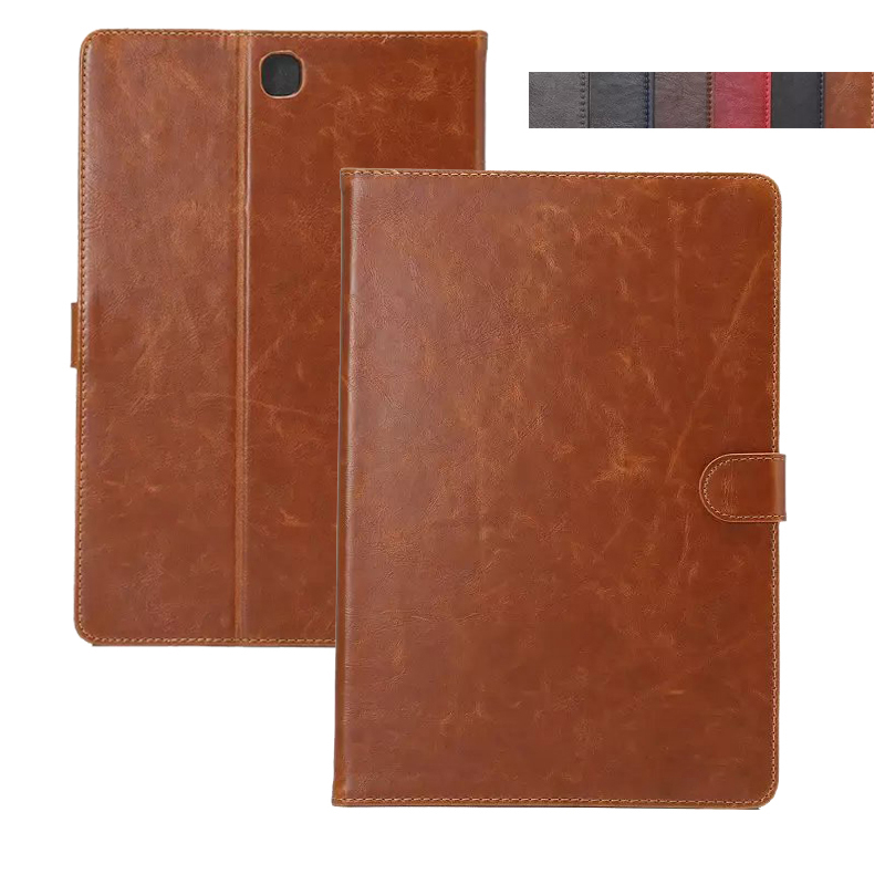 Flip Retro Leather Book Cover Case For Samsung Tab A 8 0 SM T350 T355 Stand