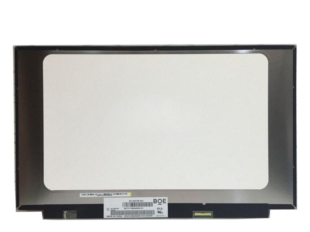 NV156FHM-N61 Screen IPS Matte LCD Matrix for Laptop 15.6 FHD 1920X1080 LED Display NV156FHM LED Display Replacement n133hse ea1 n133hse ea1 for asus ux31 ux31a ips lcd screen laptop led display panel matte 1920 1080 edp 30pins