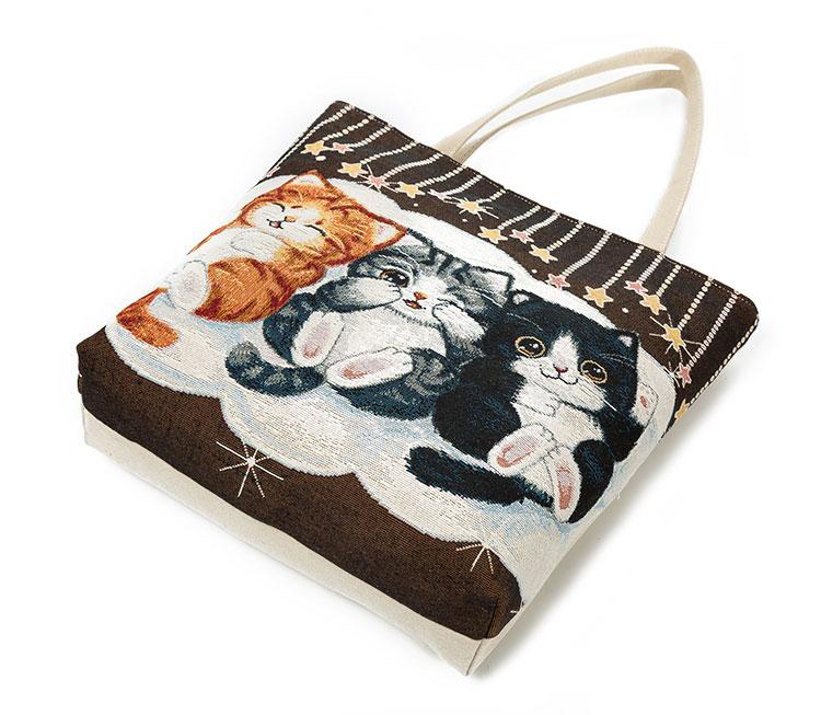 HTB1ODv8QFXXXXb9XFXXq6xXFXXXZ - Women's Beach Cats Embroidered Handbag