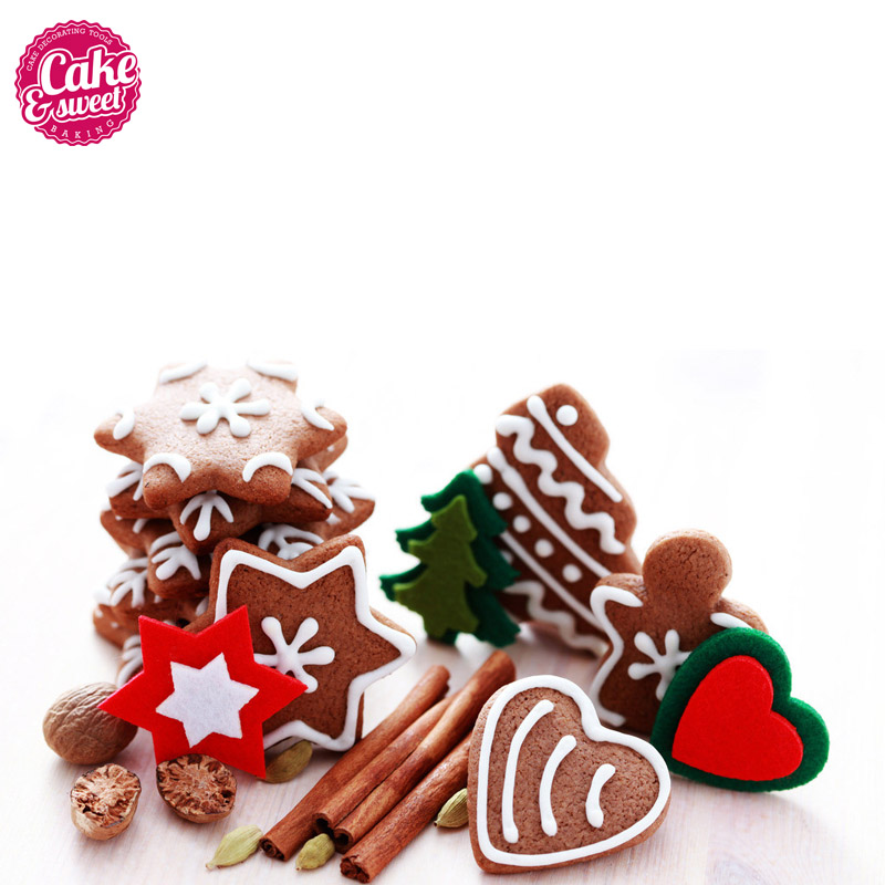 20Pcs Set Kitchen Cookie Cutters Stainless Steel Animal Shaped Biscuits Molds Cake Sugarcraft Fondant Pastry DIY Baking Tools in Cookie Tools from Home Garden