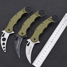 Hot Karambit Claw Cutter Knife FOX Folding Knife 5CR13MOV Blade Survival Hunting Camping Tactical Knives Outdoor EDC Tools FF0