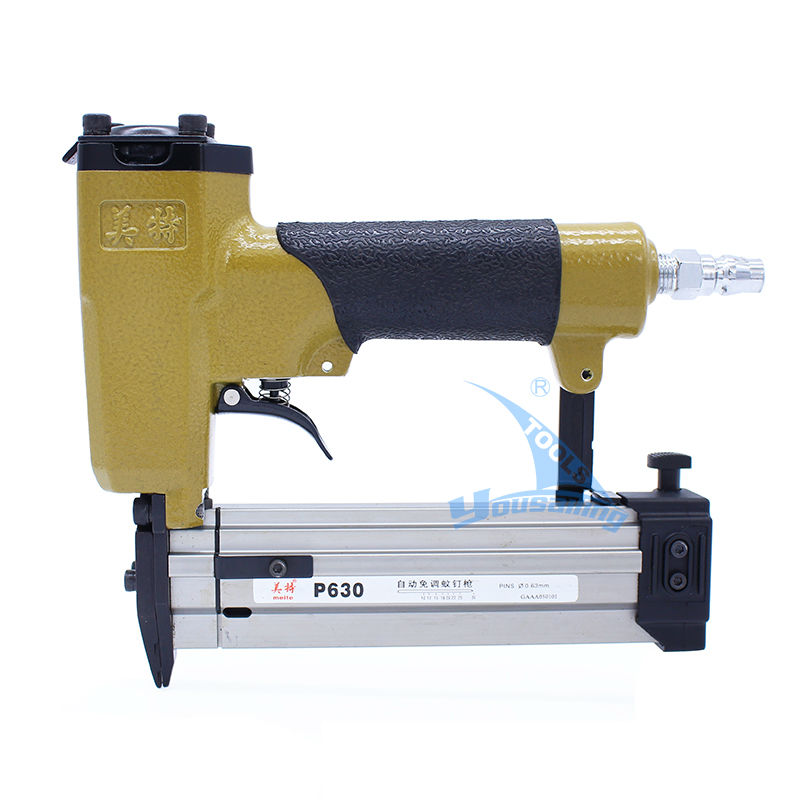 High Quality meite P630 Pneumatic Nail Gun Air Stapler Gun Pneumatic Brad Nailer Gun high quality 5000pcs meite 32mm straight nail for model f32 stapler pneumatic tool parts
