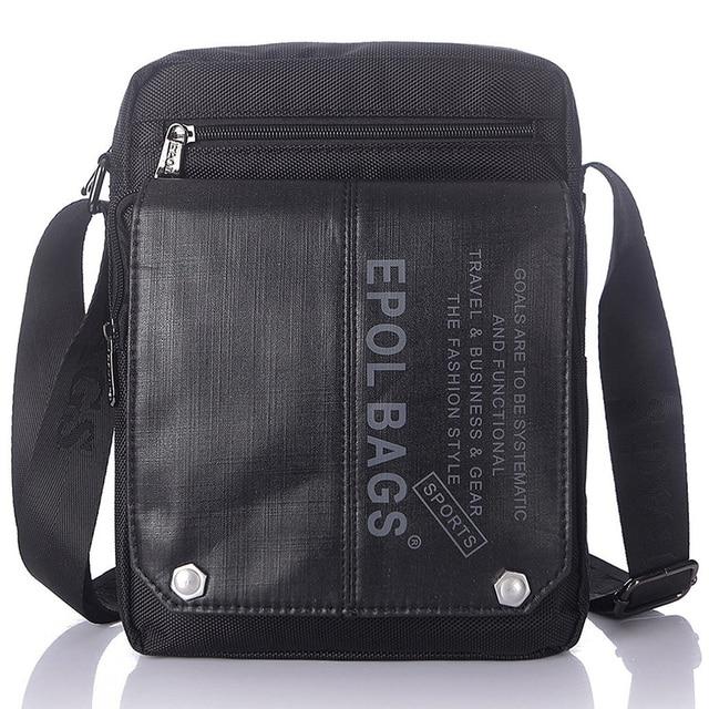 1e30b23eb87a New Arrival Men s Nylon Causal Cross Body Sling Shoulder Travel Bags  Vintage Designer Leisure Male Large Capacity Messenger bag