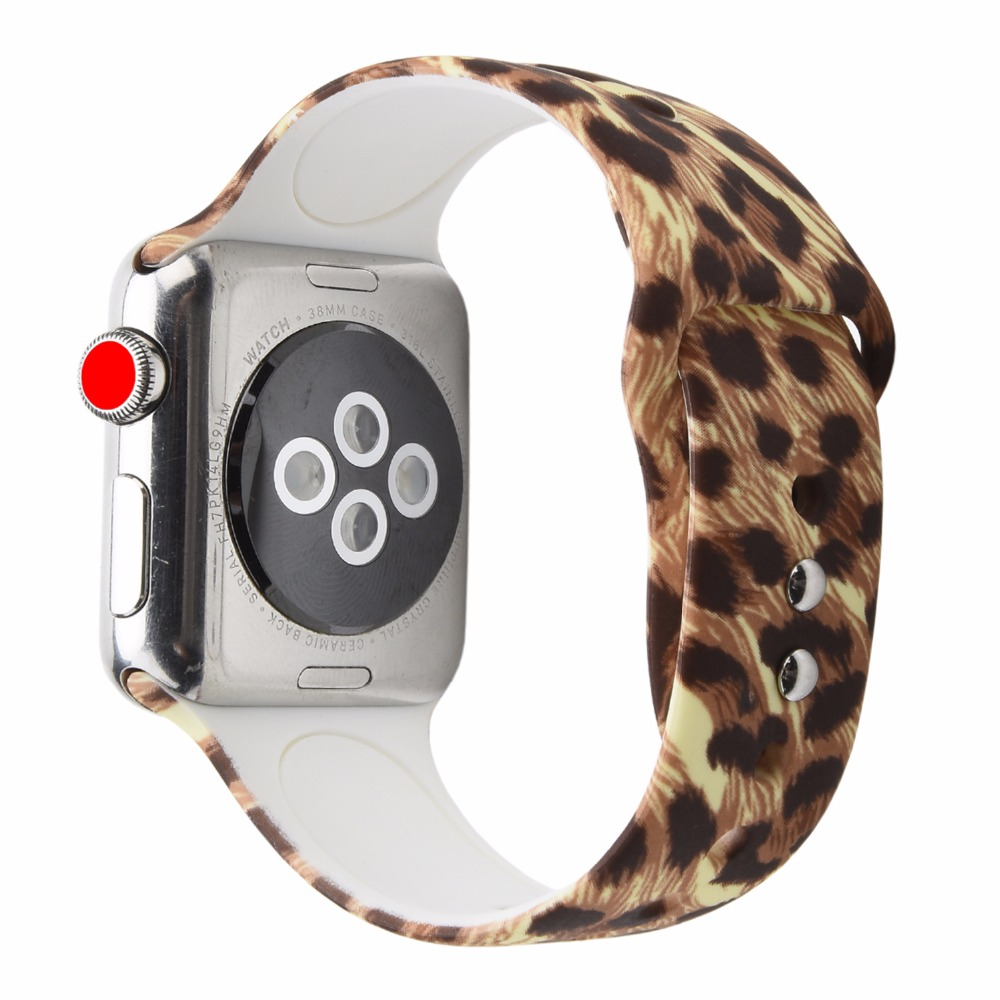 4 2 Odog Soft Silicone Replace for Apple Watch Band 4 44mm 3 2 1 Series 38mm 42mm Watchband Men