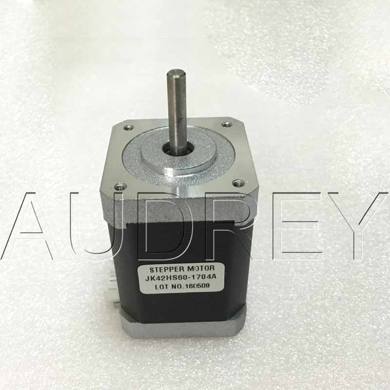 42HS60-1704A 1.8degree 2 Phase hybrid stepper motor NEMA17 42mm 5.1V 1.7A 7.3KG.CM 21W 3000RPM 4wires stepper motor 3d printer