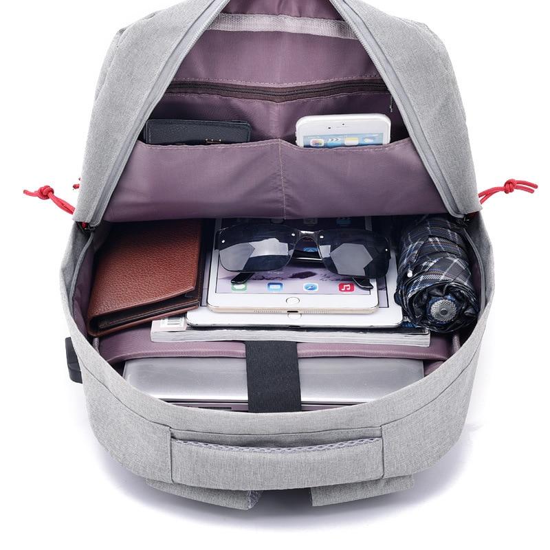 2018 New Backpacks College Student School Bags For Women Men Teenagers Back pack Vintage Mochila Casual Rucksack Travel Daypack