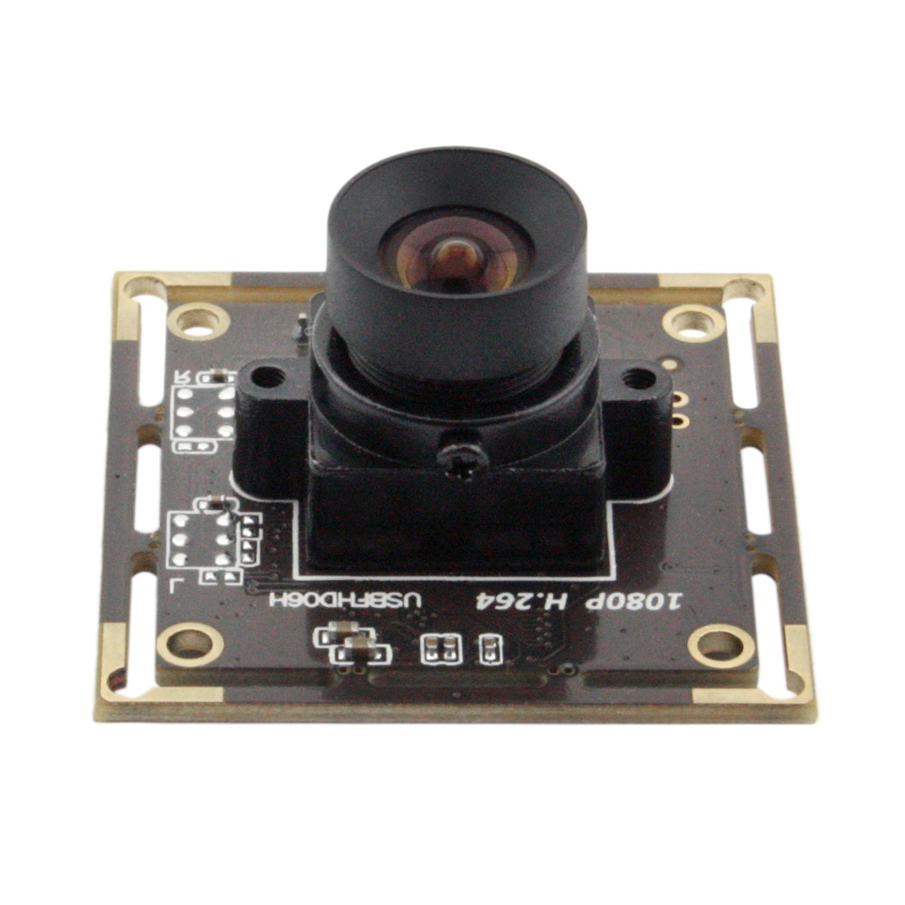 Sans distorsion étoile lumière faible éclairage Sony IMX322 2MP Full HD 1080 P Webcam UVC USB Module de caméra pour Raspberry Pi