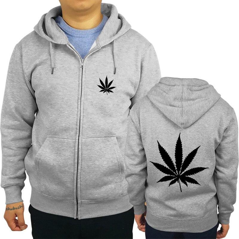 944223beef42 LEAF Logo MENS hoodies WEED HIGH SWAG HYPE HIPSTER GRAPHIC TEE TOP shubuzhi  brand zipper mens hoodie fashion sweatshirt