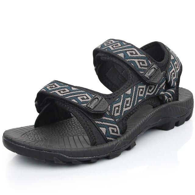 Vientan обувь высокого качества мужчины пляжные sadnals 2016 летний новый мужчины ежедневно случайные сандалии sandalias masculinas