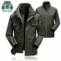 Rich AFS JEEP S to 4XL Double Layer Winter Brand Keep Warmly Jacket,Detachable Inner Hooded Professional new design Jackets
