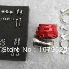 Красный 44 мм V-Band внешний турбокомпрессор с водяным охлаждением производительность сточных ворот