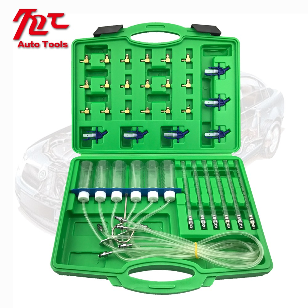 Diesel injector flow testing kit common rail automotive tools in Fuel Gauges from Automobiles Motorcycles