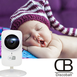 2019 New Baby Sleeping Monitor HD 720P Mini Wifi Wireless  Network P2P Security Home Protection Mobile Remote Cam Security