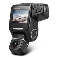 T682 2 Inch Car Dash Cam 1080P FHD 170 Degree Lens Car Dvr Auto Camera Built In GPS Logger Night Vision WDR Park Monitor