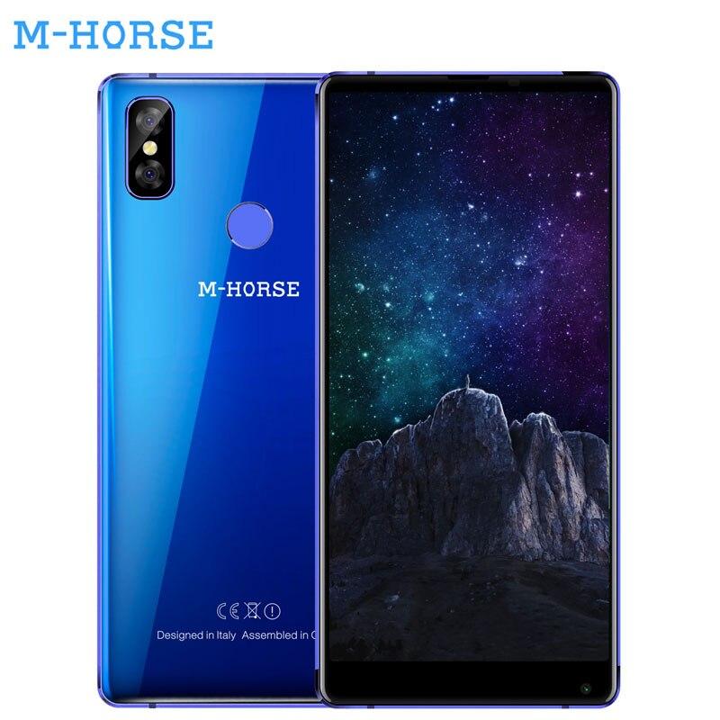 M-HORSE Pur 2 Smartphone 5.99 ''18: 9 4 gb RAM 64 gb ROM Android 7.0 MTK6750 Double Cames Arrière 16.0MP + 13MP D'empreintes Digitales 4g Cellulaire téléphone