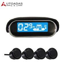 AUTOADAS A102 asistenc con 4 sensores de aparcamiento A Prueba de agua 18.5mm Sensores de aparcamiento de Coches de Alarma Buzzar