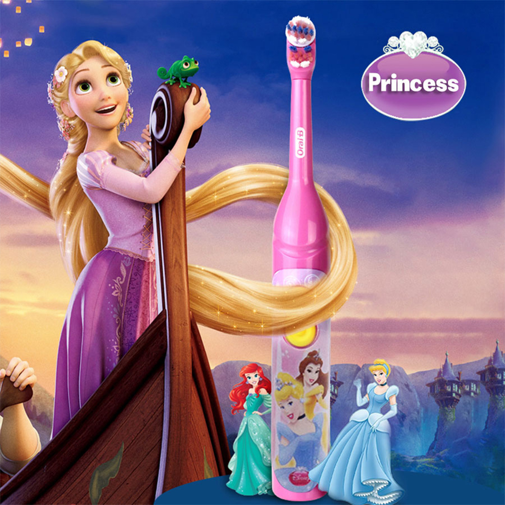 Oral B Sonic Toothbrush for Children Oral Care Kids Battery Power Rotating Tooth brush For Child 3+ 2
