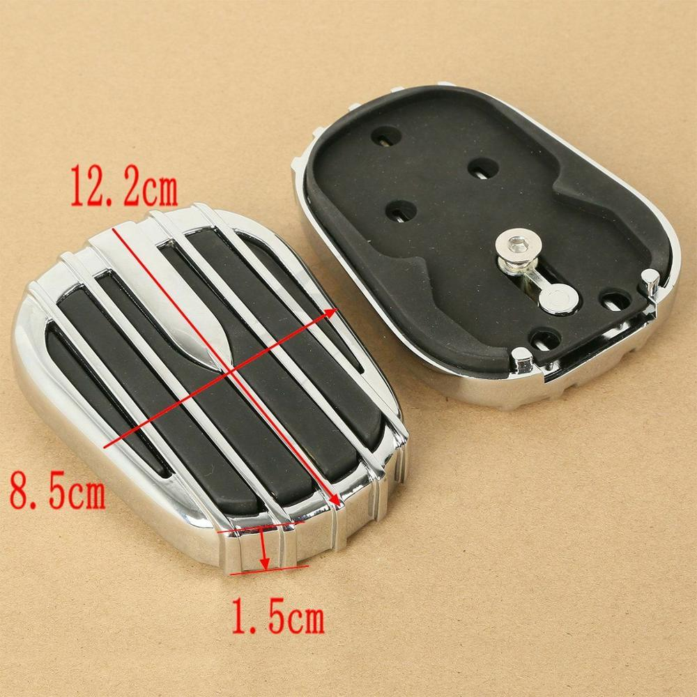 Motorcycle Brake Pedal Cover Pad Foot Peg Rests For Harley Touring Road King Electra Street Glide Ultra Tri Glide