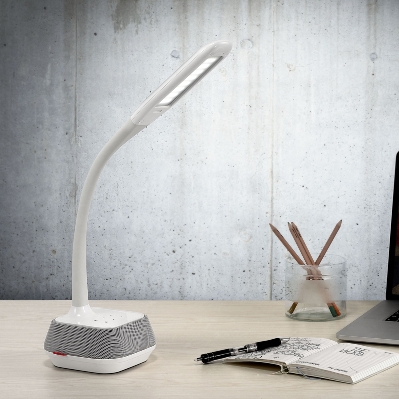 2017 Bluetooth Stereo LED Table Lamp Modern Desk Light Flexible Student Book Night Reading for Study Dormitory