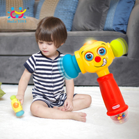 Children Fun Electric Music Sound Play Hammer Educational Striking Toy For Baby Toddler Improve Baby S