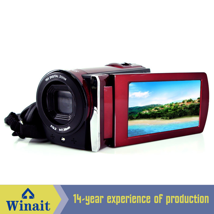 Winait Electronic Image Stabilization HDV-666 digital video camera with Voice recording,PC-Camera winait electronic image stabilization hdv z8 digital video camera with recording function touch screen
