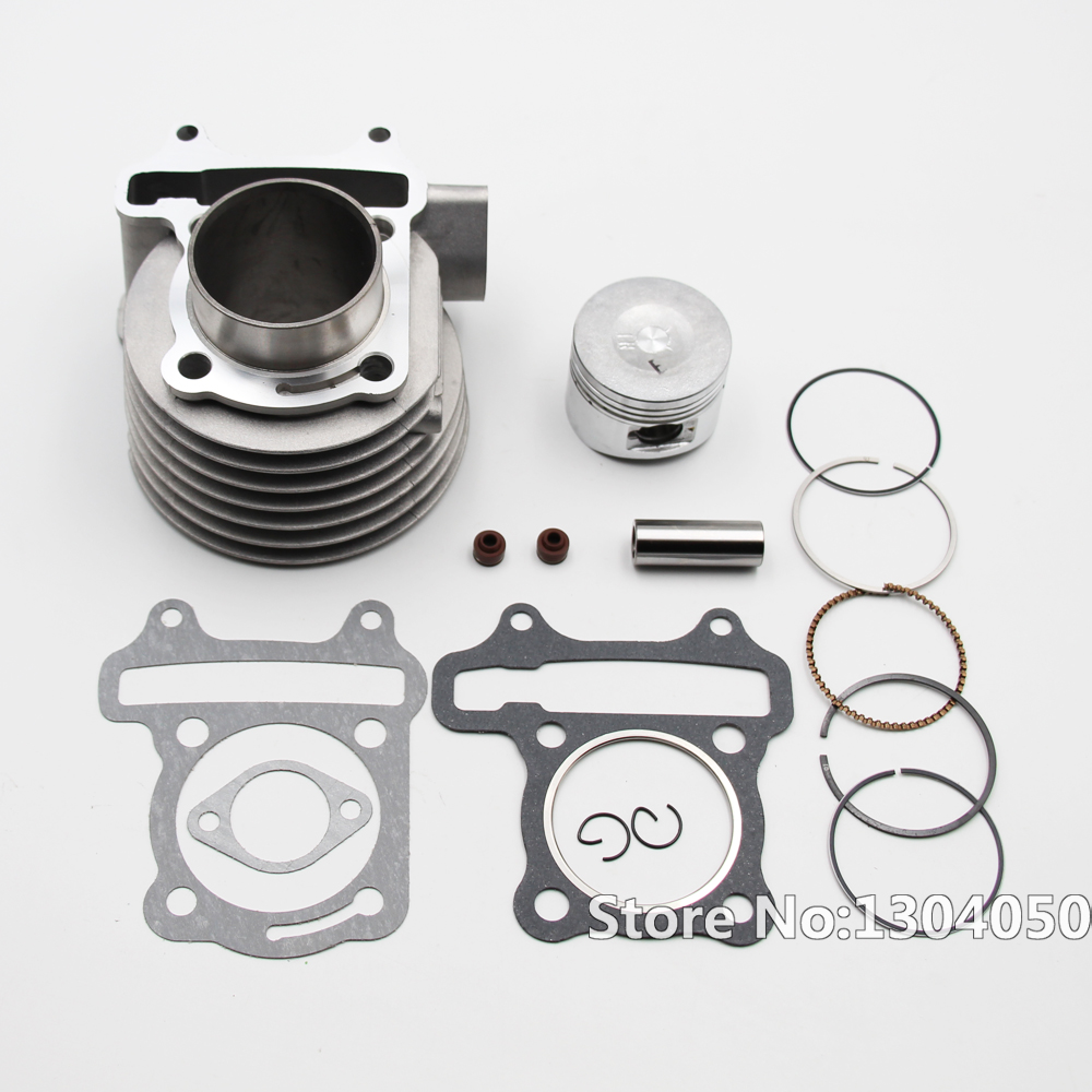 GY6 125cc 52.4mm Cylinder Engine Kit 152QMI 157QMJ Chinese Scooter Moped NEW nibbi engine upgrade parts cylinder 58 5mm 6 2mm camshaft for gy6 scooter 150cc 125cc 152qmi 157qmj