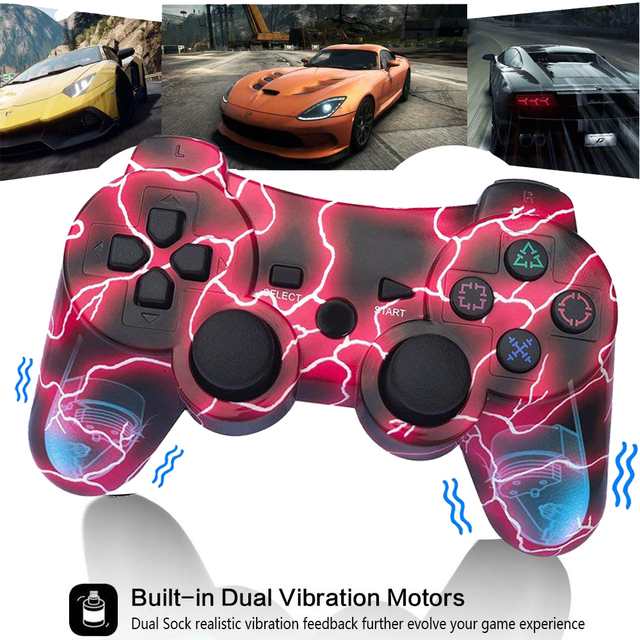 Bluetooth Controller For Sony PS3 Gamepad PC Controller Wireless For PS3 Mando Joystick SIXAXIS Controle Game Accessories