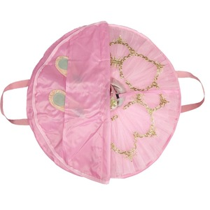 Image 4 - Blue Dance bag Black waterproof bag for ballet tutu Pink canvas flexible and foldable soft Ballet bag for ballet tutus zippers