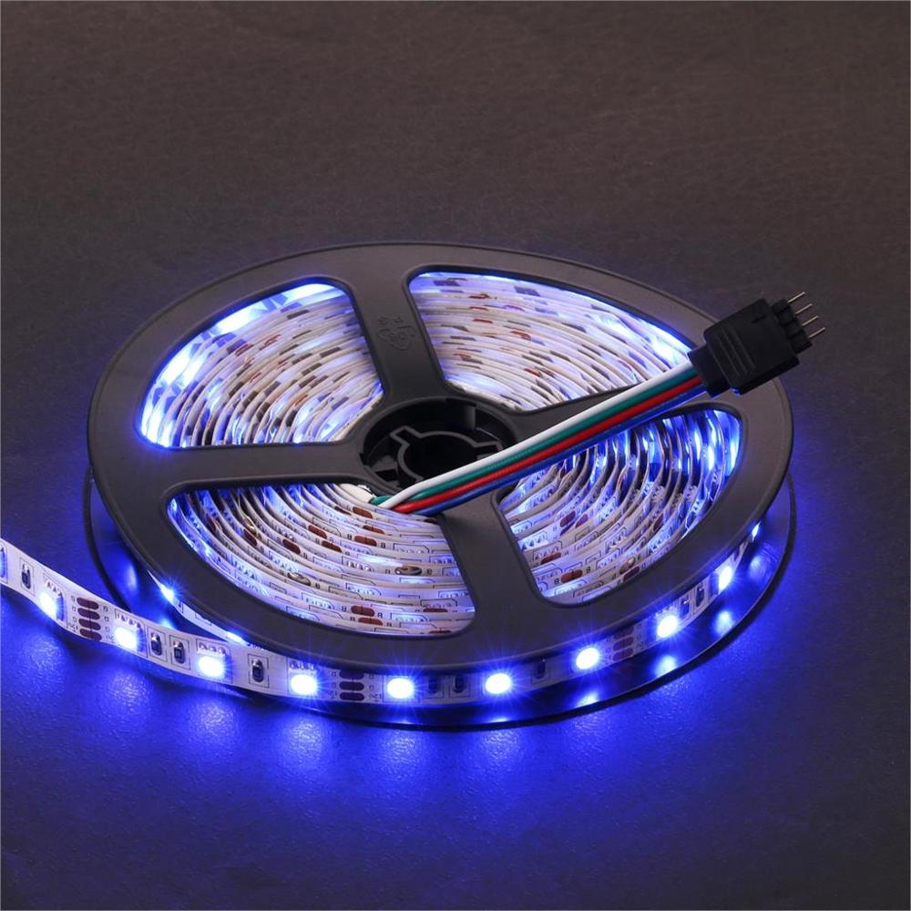 LED Strip Light IP65 SMD3528 Waterproof 5m Flexible LED Lights Tape Lamp 12V Single Color White,Warm white,Blue,Green,Red,Yellow