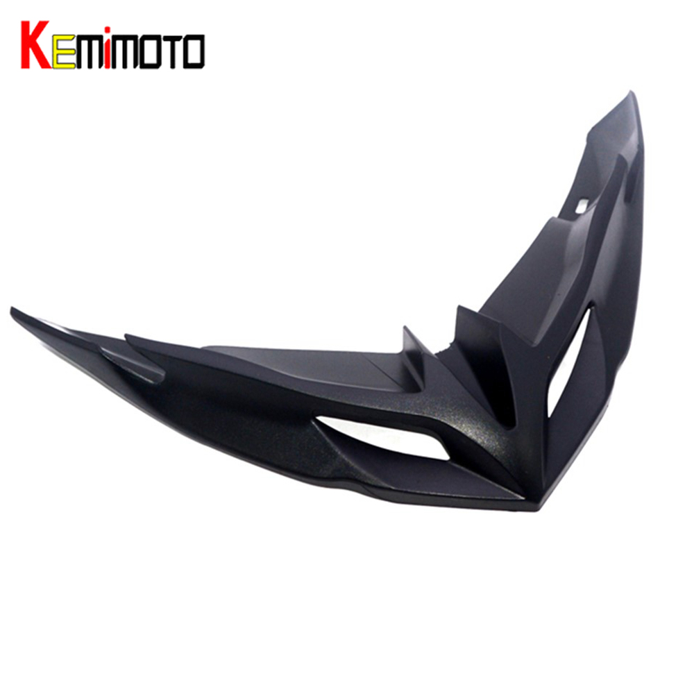 For KAWASAKI Versys 650 2015 2016 2017 2018 Motorcycle Front Fairing Aerodynamic Winglets ABS Plastic Cover Protection Guards