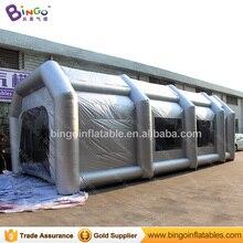 10x5x3.5 м портативный надувные paint booth с 2 воздуха для живописи Бизнес-33 футов Длинные игрушка палатка