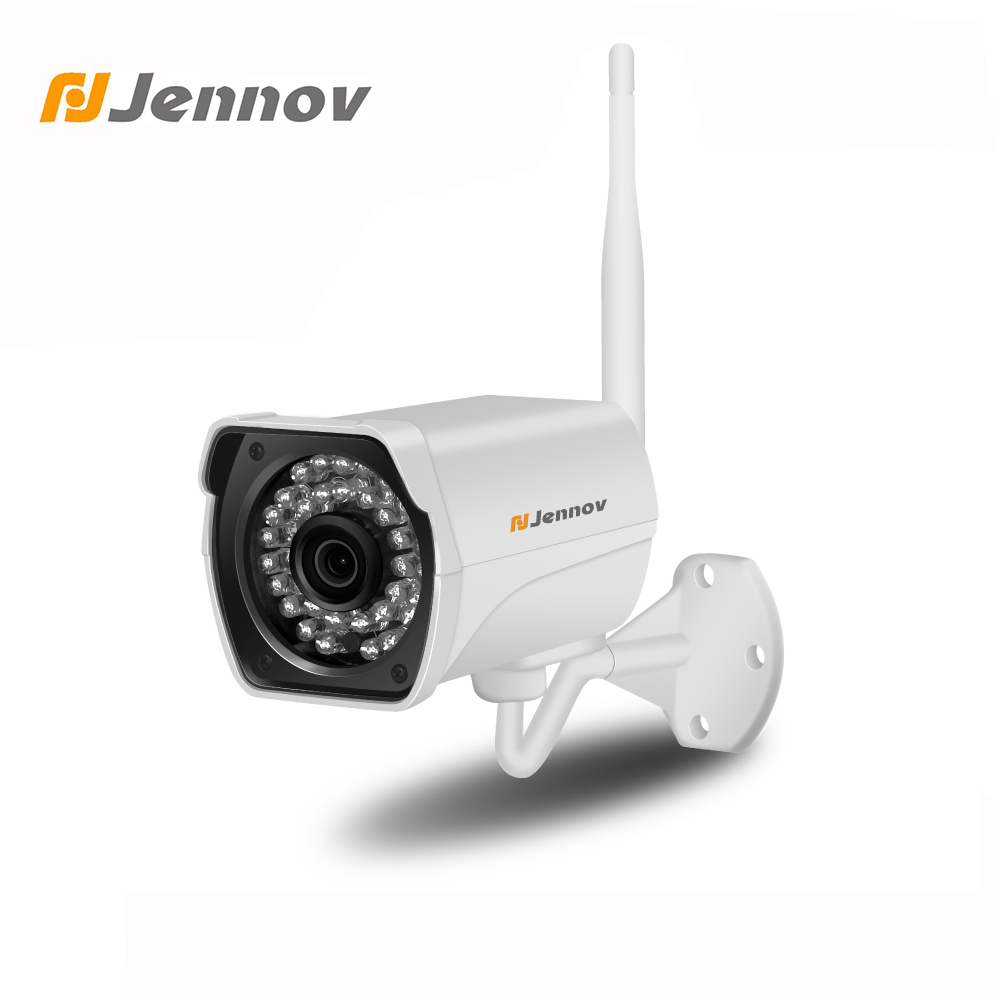 Jennov IP Camera Wi fi Outdoor Wireless Security Cameras For Home CCTV Camera Mini Wireless Camera 1080P ONVIF CCTV SD Card Slot v712 10 screen android 4 0 netbook w wi fi rj45 camera hdmi sd slot white
