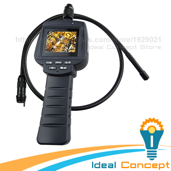 Video Inspection Recordable Borescope 9mm 4LED Camera Car Engine Scope 1M Cable Industrial Endoscope explorer 8807al inspection camera boroscope 1m cable 4 5 mm 3 5 lcd recordable wireless inspection camera video borescope