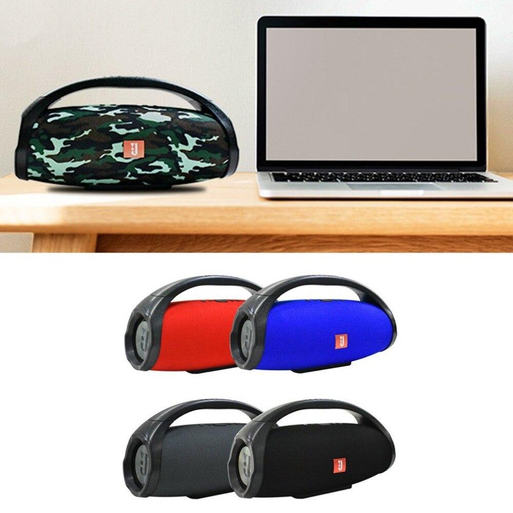Mode Sans Fil Bluetooth Haut-Parleur USB TF Lecteur de Musique Subwoofer Stéréo Basse Haut-parleurs Portable Haut-Parleur Extérieur