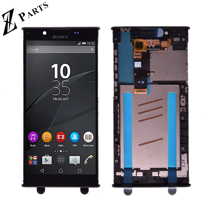 Original LCD Display for <font><b>Sony</b></font> Xperia L1 G3312 touch screen 5.5 inch Digitizer Sensor Panel Assembly G3311 G3313 with frame image