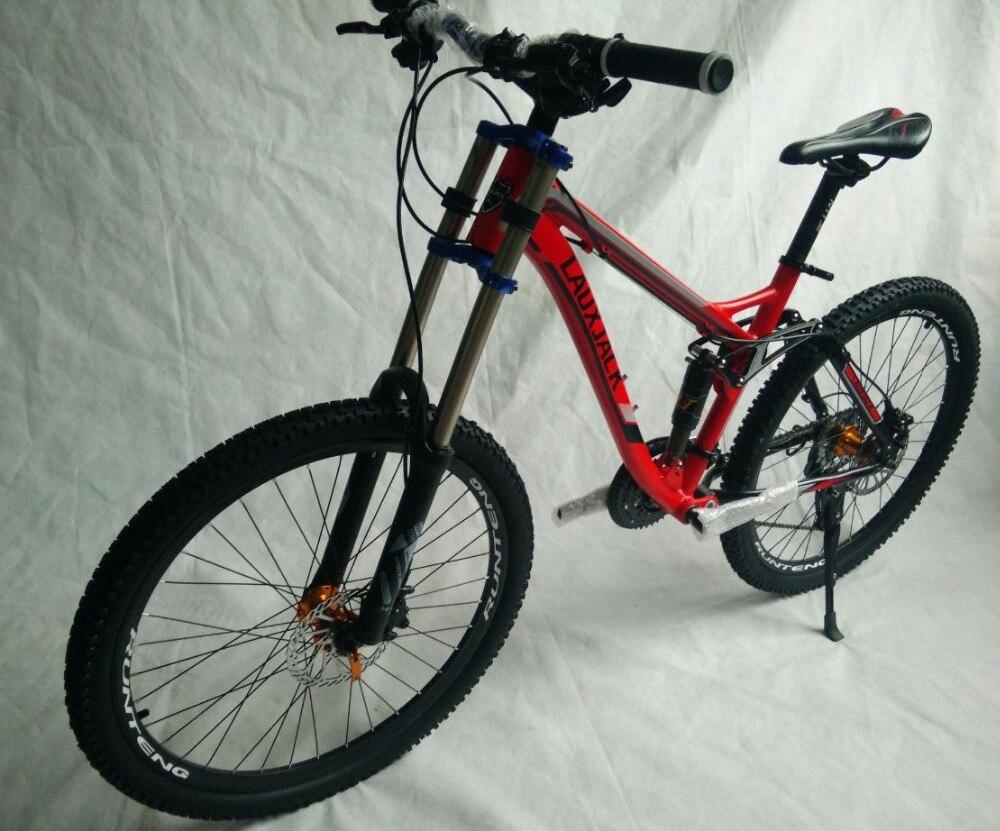Best tyre dirt bike   Full suspension  AM/XC    Hydraulic brakes  new cycling bicicleta mountain bike  21/24/27/30 speed  26*17inch 3