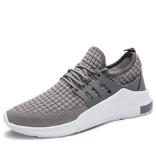 Light Running Shoes for Men Outdoor Breathable Sneaker Flywire Fabric Red Bottom Jogging Sport Spring Autumn