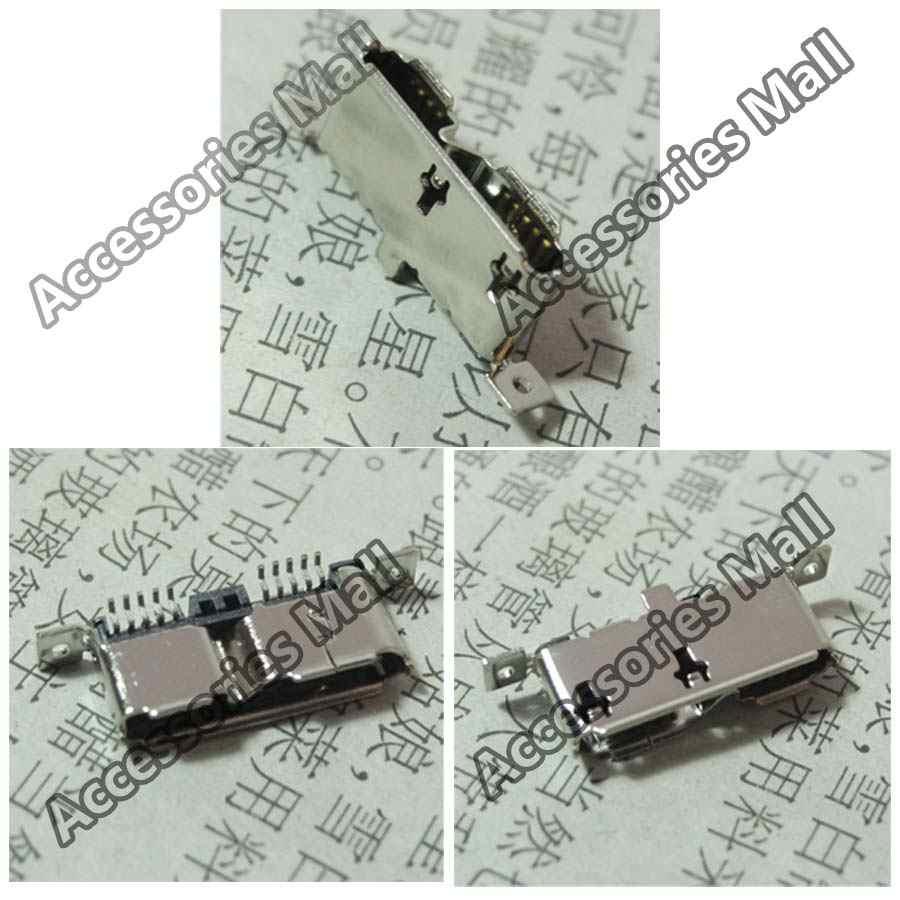Verticale Micro 3.0 Usb-poort Plug Socket Voor Seagate Mobiele Harde Schijf/Netbook/MP5 Dc Power Jack Usb jack 9pin + 2pin