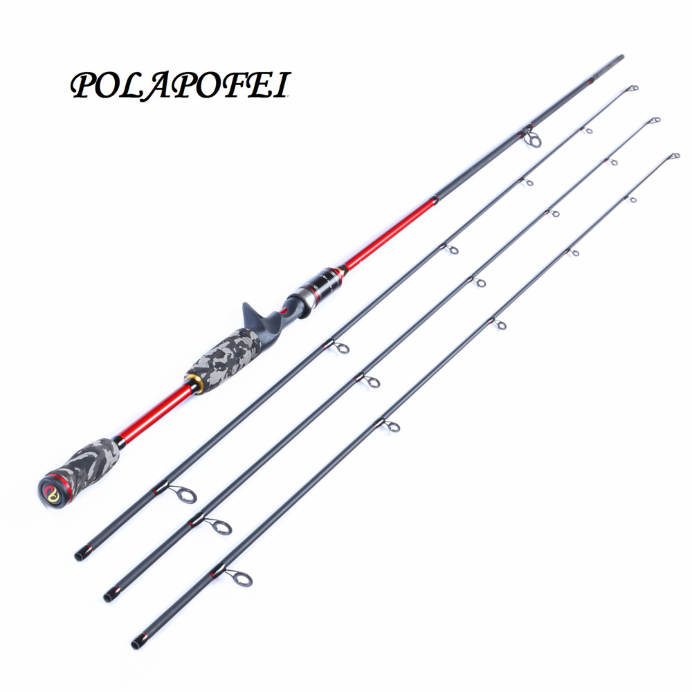 Polapofei 3 tips carbon spinning fishing rod pod lure for Discount fly fishing gear