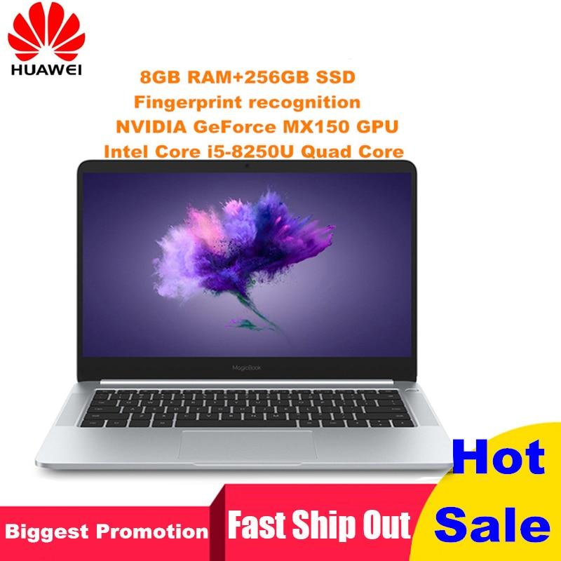HUAWEI Honor MagicBook VLT-W50C Windows 10-OEM Pro Laptop 14'' 16:9 FHD Screen 8