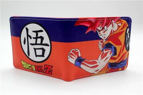anime Dragon ball Z DBZ wallet cosplay Son Goku coin purse women men wallet 3 style japan anime katekyo hitman reborn wallet cosplay men women bifold coin purse