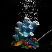 Aquarium Coral Air Stone Aerator Bubble Oxygen Pond Pump Fish Tank Diffuser New P101