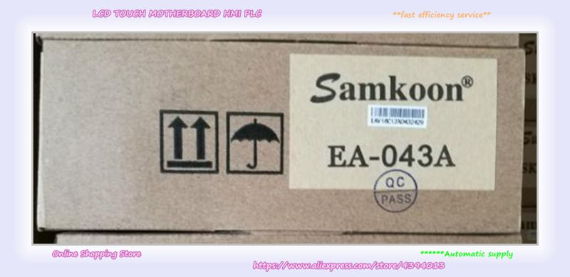 Samkoon 4.3 inch HMI Touch Screen Panel EA-043A TFT 480*272 new in box in stock sk 070as sk070as 7 inch hmi touch panel new in box in stock