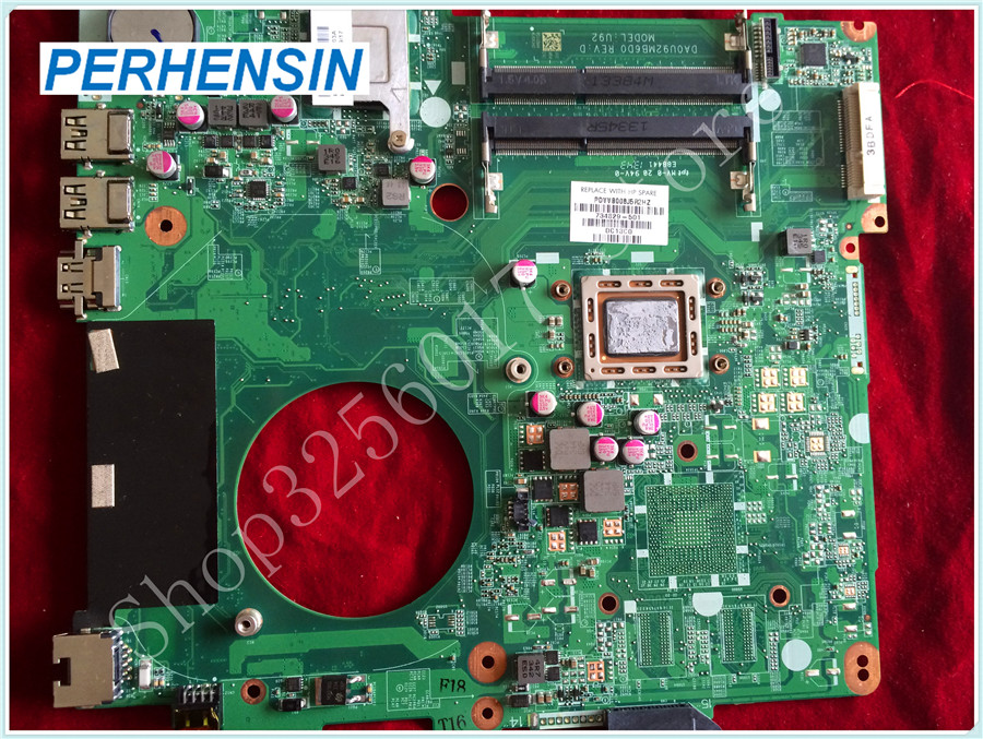 For HP For Pavilion 15-N laptop MOTHERBOARD CPU A8-5545 31U92MB00E0 DA0U92MB6D0 734829-501 integrated 100% tested good 762526 501 main board for hp pavilion 15 p day22amb6e0 laptop motherboard ddr3 am8 cpu