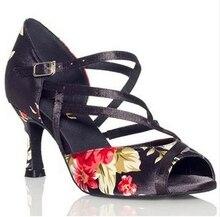 Ladies Women Latin Dance Shoes Salsa Tango Dancing Shoes For Women 6cm 8.5cm 10cm High Heel Ballroom Shoes Dance