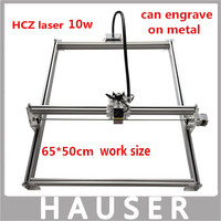 Big Power 7w Laser Metal Engraver Machine 50 65cm 7w Laser Module Laser Cutter 7000mw Co2