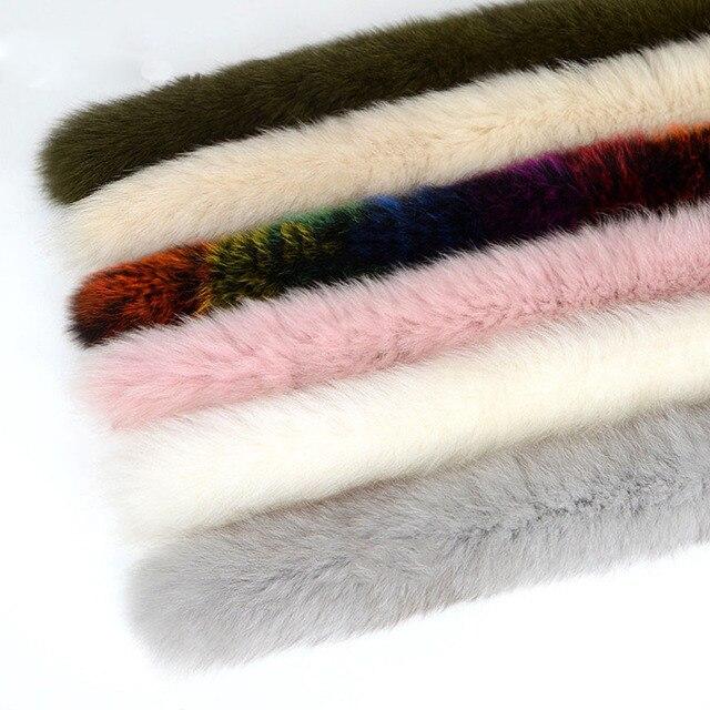 Winter warm scarf quality fox fur collar scarf ladies color scarf / fashion style L6